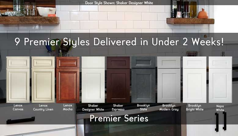 Door Styles Available!