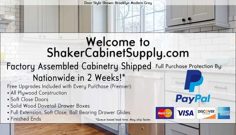 Welcome to ShakerCabinetSupply.com